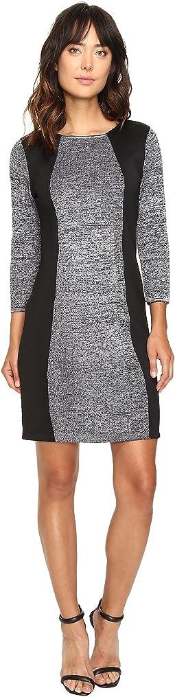 Sheather Sweater Dress with Scuba Insert CD6W2W9F