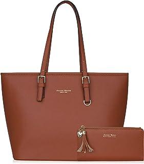 Jocose Moose Damen Handtasche Shopper Schwarz Groß Elegant Damen Tasche für Büro Schule Einkauf, Geschenk mit einer Damen ...