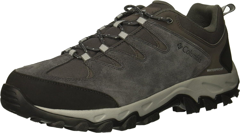 Columbia Mens Buxton Peak Waterproof Wide Sneakers