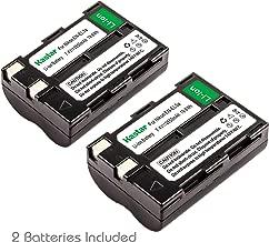 Kastar 2 Pack Li-ion Battery Pack for Nikon EN-EL3 ENEL3 EN-EL3A ENEL3A and Nikon DSLR D50 D70 D70s D100 Digital Camera
