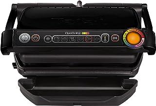 Tefal GC712812 Optigrill + Black Edition Plancha de Cuisine 2000 W 6 Modes de Cuisson, Indicateur de Progrès, Capteur D'Ép...