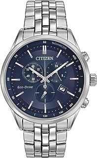 Citizen 西铁城 男士腕表 计时表 石英 不锈钢 AT2141-52L