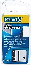 Rapid 9/15 mm Headless Pins (1000) Smalle Box