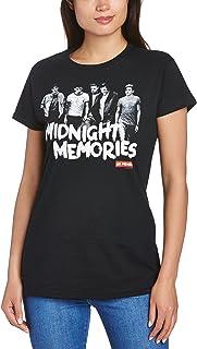 One Direction Midnight Memories T-shirt voor dames
