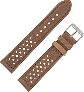 Vintage Style, Brown, Padded Watch Band by DAKOTA