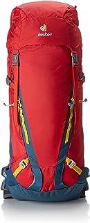 Deuter Guide 35+, Mochila Unisex Adulto, Rojo (Fire/Arctic), 24x36x45 cm