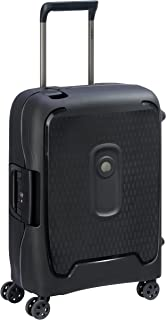Delsey Paris MONCEY Hand Luggage, 55 cm, 39 liters, Black (Noir)