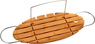 AmazonBasics Standard Bamboo Bathtub Caddy Tray