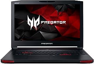 Acer Predator - Ordenador portátil para gaming (Intel Core i7, 8 GB VRAM, DVD, Win 10, Full HD IPS, acabado mate), color negro y rojo Negro 512 PCIe SSD + 1000 HDD