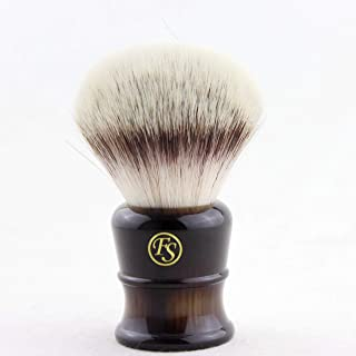 Frank Shaving G4 Synthetic Fiber Hair Knot Shaving Brush 28MM Knot Size