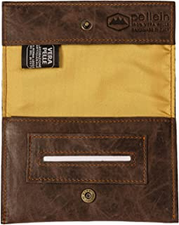Pellein - Portatabacco in vera pelle Tobacco Sensation - Astuccio porta tabacco, porta filtri, porta cartine e porta accen...