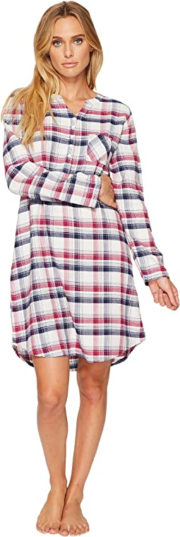 Jockey - Flannel Plaid Sleepshirt