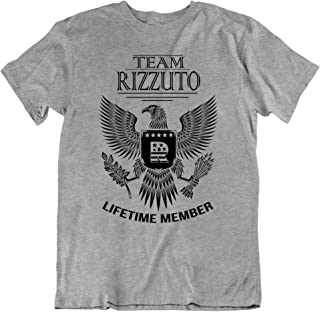 Team Rizzuto Lifetime Member Family Surname T-Shirt Families The Rizzuto Last Name