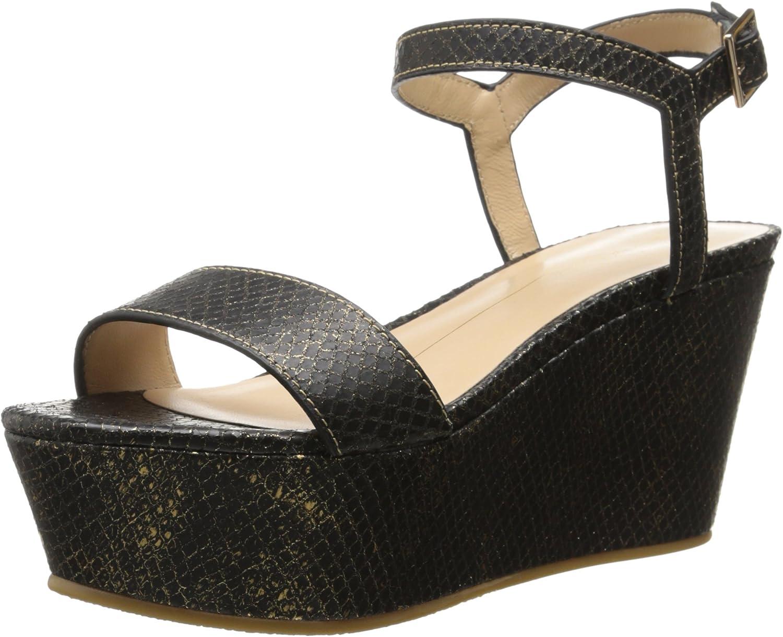 Lola Cruz Women's Detailed Wedge Sandal