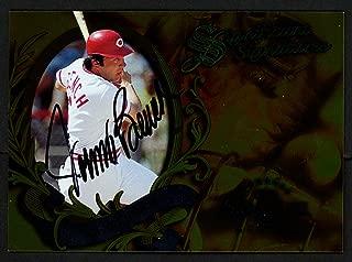 Johnny Bench Autographed 1997 Donruss Significant Signatures Card Cincinnati Reds SKU #151419