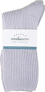 Graham Cashmere, Calcetines de cachemira para mujer, hechos en Escocia, en caja de regalo