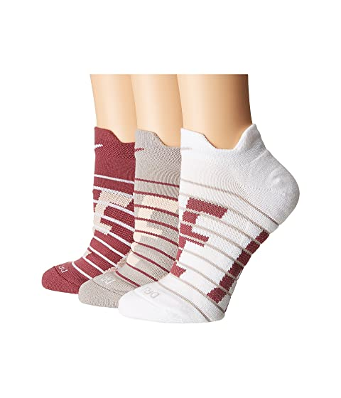 Dry Cushioned Low Training Socks 3-Pair Pack, Multicolor 6