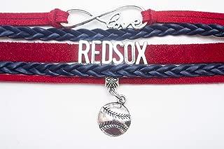 Swamp Fox Boston Red Sox Infinity Bracelet