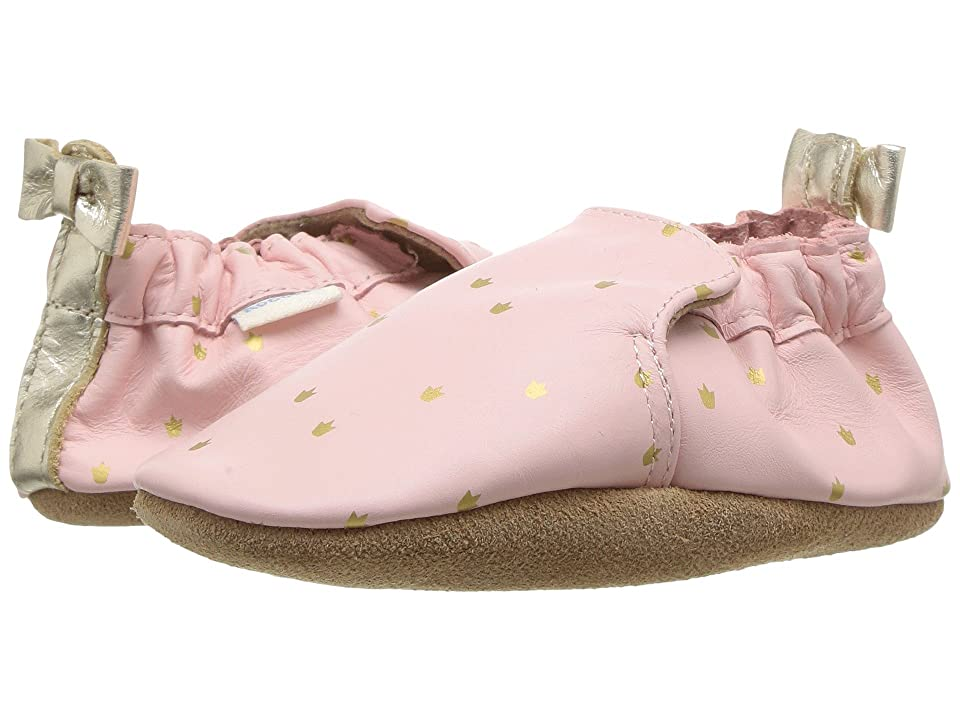 Robeez Prince Charming Soft Sole (Infant/Toddler) (Light Pink) Girl