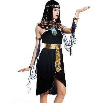Amscan Dress Up Reina egipcia Talla 10-12: Amazon.es: Juguetes y ...