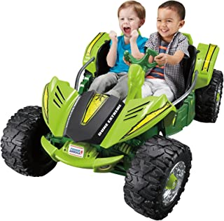 Best Fisher-Price Power Wheels Dune Racer Extreme 12-Volt Battery-Powered Ride-On (Green) Review