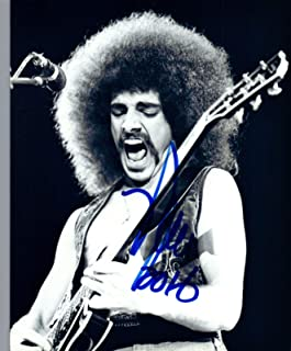 Neal Schon Signed Autograph 8x10 Photo JOURNEY & SANTANA Guitarist COA
