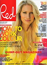 Red UK March 2011 Magazine SUPERMODELS COME OF AGE:, MAGGIE, KRISTY, TUTJANA, MEET THE REAL WOMEN BEHIND THOSE ICONIC FACES