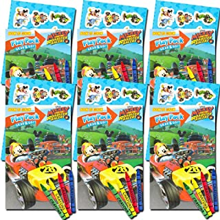 Mickey Mouse Ultimate Party Favors Packs -- 6 Sets with Stickers, Coloring Books and More (Party Supplies)