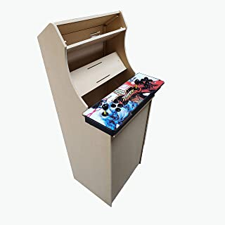 LEP1 Customs Arcade Cabinet Kit - Easy to Assemble 2 Player 54