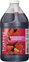 Frusheez Strawberry Daiquiri Slush and Slushie Mix, 1/2 Gallon