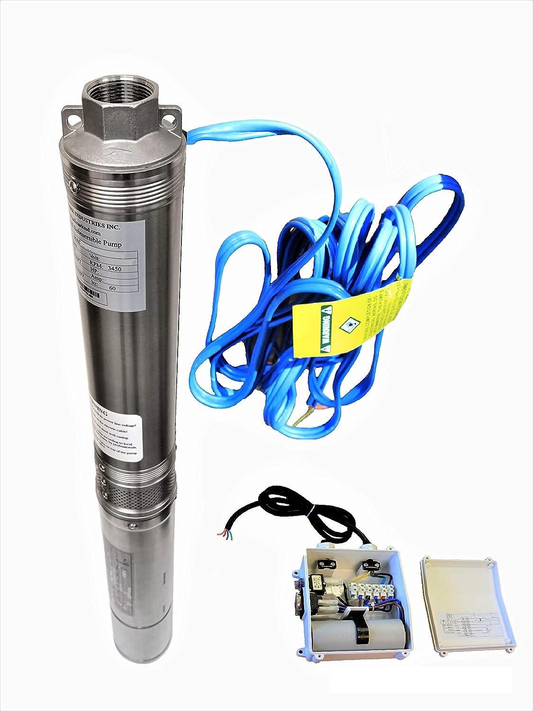 Hallmark Industries Deep Well Pump 2HP Max Max 41% OFF 230V 400' 35gpm 5 ☆ popular 60