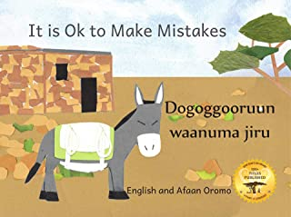 It Is Ok To Make Mistakes: Making Things Right in Afaan Oromo and English