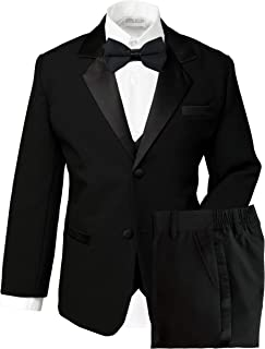 Boys' Classic Fit Tuxedo Set, No Tail