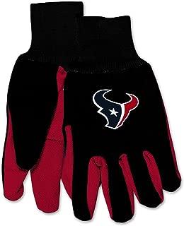 Wincraft NFL Houston Texans Mechanical/Gardening/Work/Utility Glove with 3D Logo …