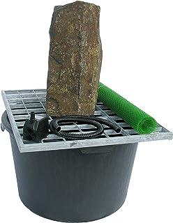 "Stone Age Creations FK-BA-0924 5 Piece Basalt Fountain Kit, 24"""