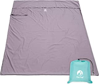 Pike Trail Sleeping Bag Liner – Travel and Camping Sheet, Lightweight and Compact Insert with Full Length Zipper and Guarantee