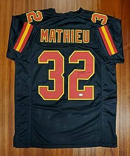 Amazon.com: tyrann mathieu chiefs jersey