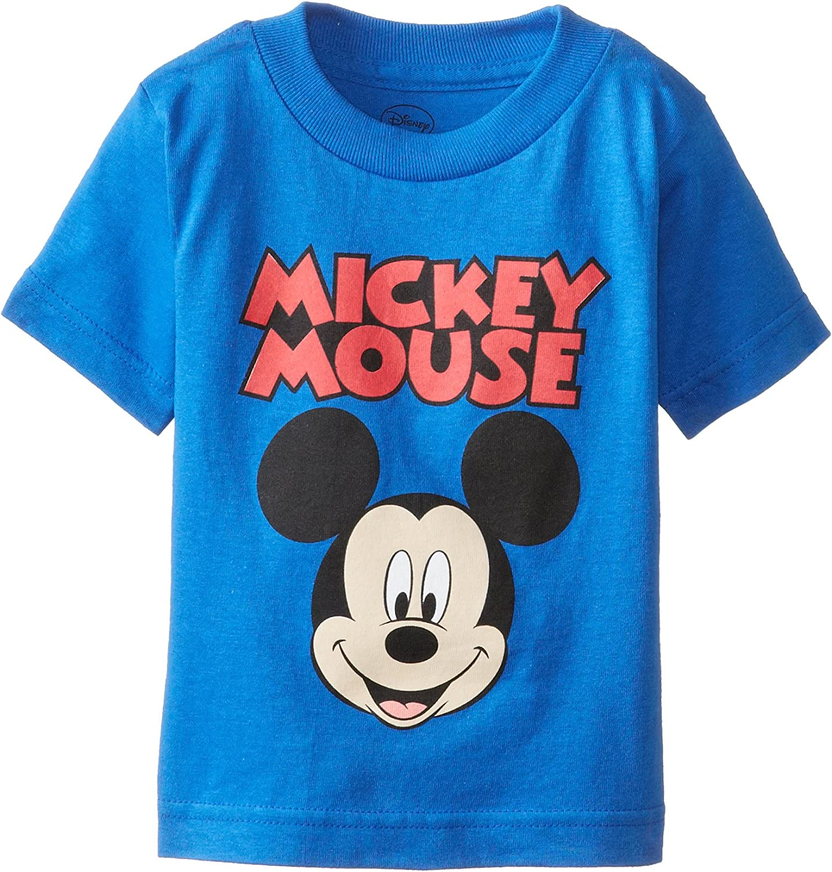 Official Disney Mickey Mouse Star Boys Birthday T-Shirt