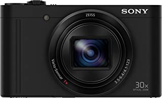 Sony DSCWX500/B Compact Digital Camera with Optical Zoom and 3-Inch LCD (Black)