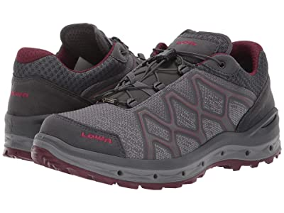 Lowa Aerox GTX(r) Lo Surround(r) (Grey/Berry) Women