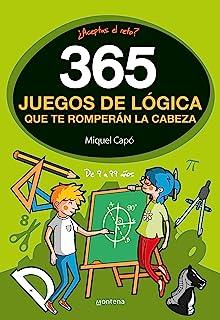 365 enigmas y juegos de lógica: Para niños y niñas. Acertijos divertidos y Retos de ingenio para aprender en Familia. Acti...
