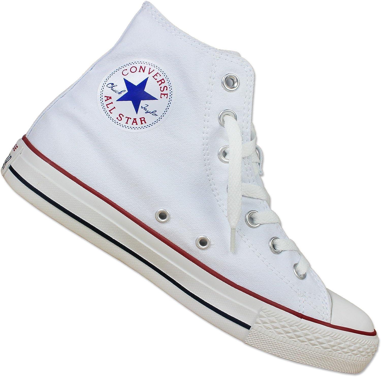 Converse Chuck Taylor All Star Hi Canvas White Sneakers Chucks Sneaker 35-43