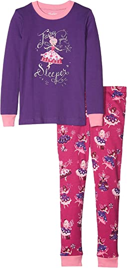 Fairy Sleeper Organic Cotton Applique Pajama Set (Toddler/Little Kids/Big Kids)