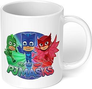 "1 Mug -""PJ Masks Character"" Kids Mug - Perfect for your cuppa Coffee, Tea, Karak, Milk, Cocoa or whatever Hot or Cold Beve..."