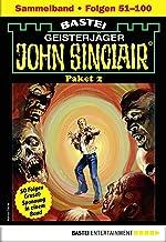 John Sinclair-Paket 2 - Horror-Serie: Folgen 51-100 in einem Sammelband (John Sinclair Staffel) (German Edition)