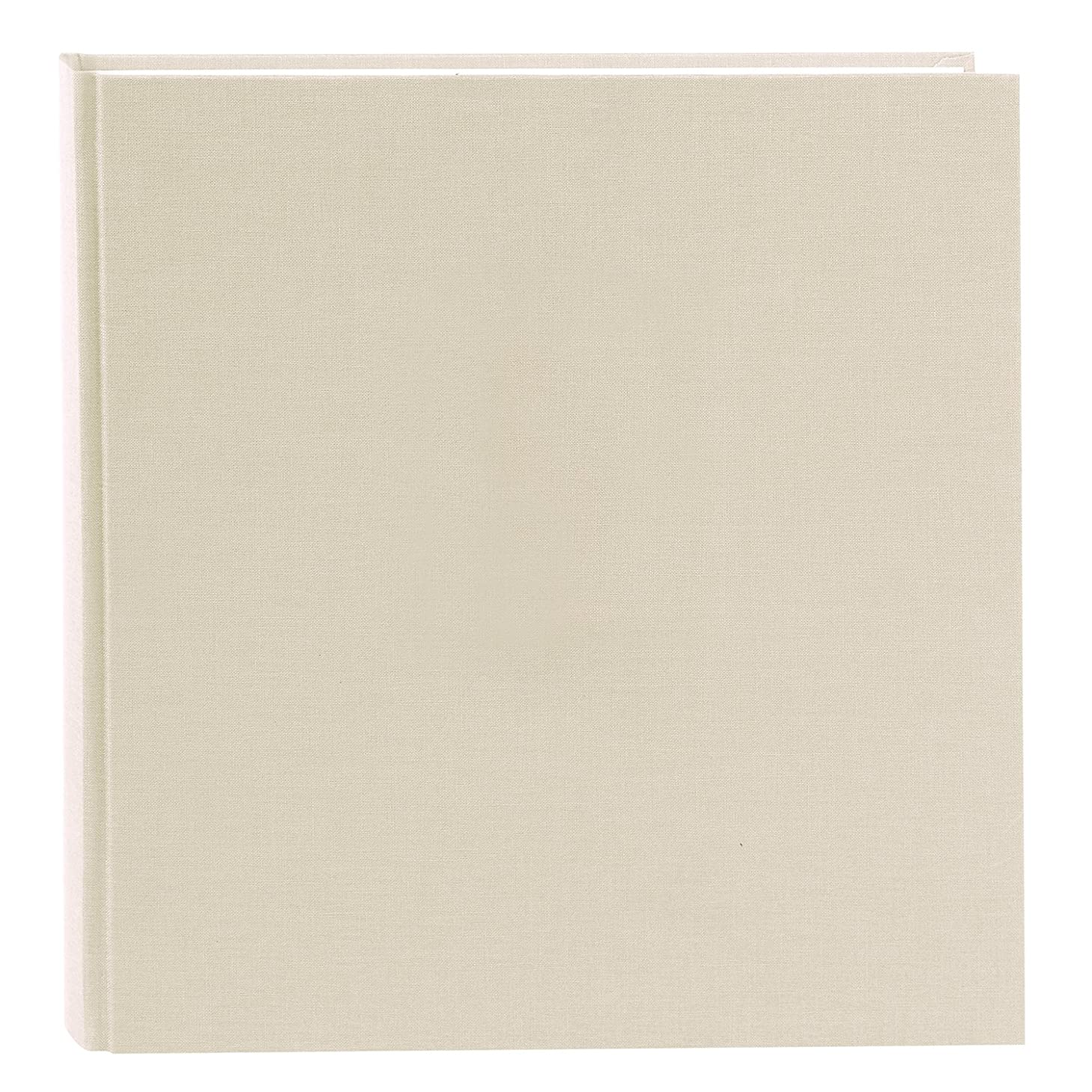 Goldbuch Photo Album Summertime Trend 2, 30?x 31?cm with 60?White Pages with Pergamine Dividers, Linen, Beige, 27605