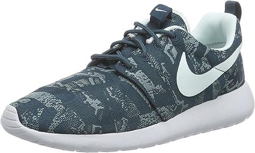 NikeWMNS NIKE Roshe One Print - Hauszapatos mujer