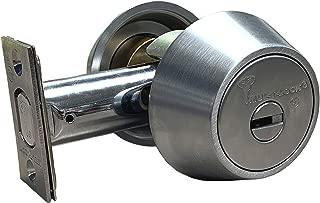 Mul-t-lock Hercular Double Cylinder deadbolt - Satin Chrome