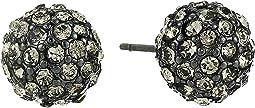 8 mm Fireball Stud Earrings