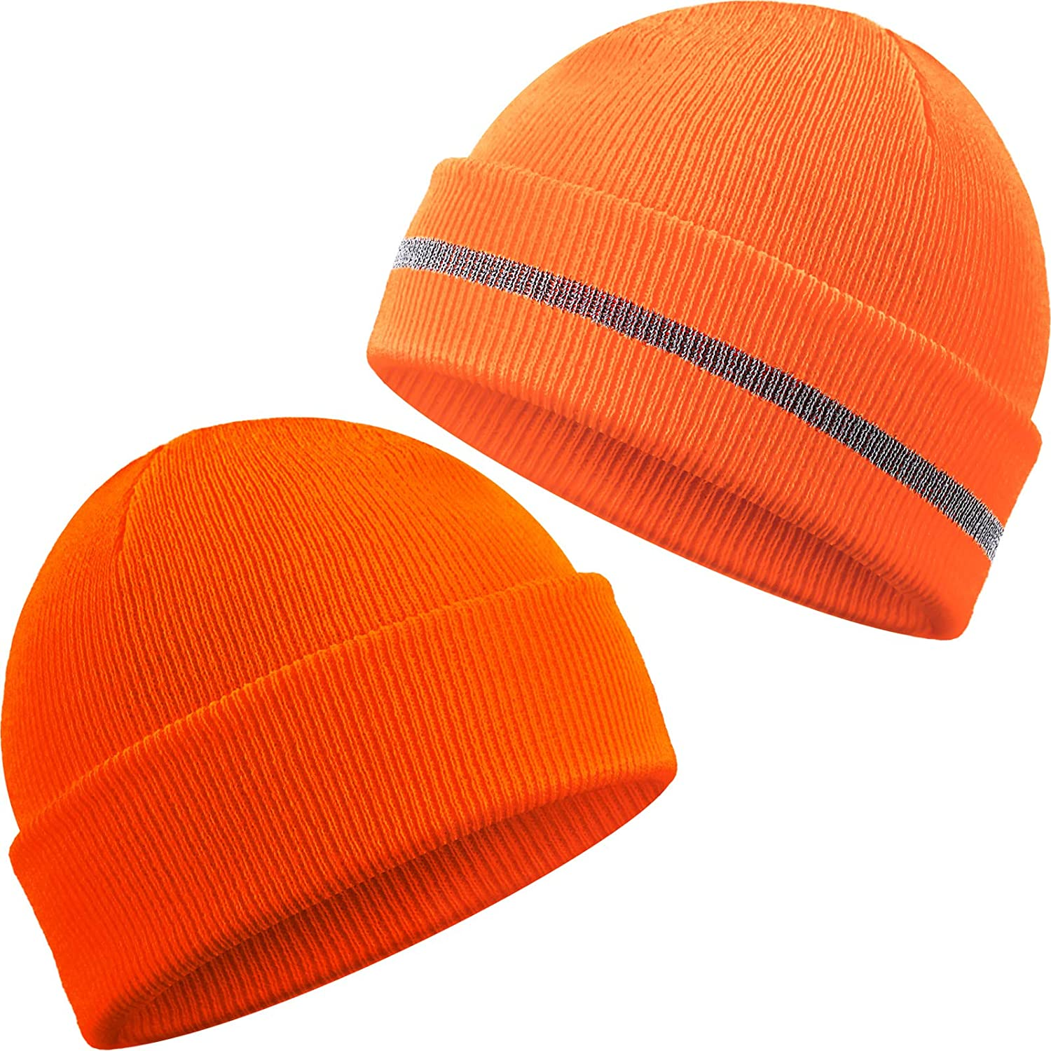 Geyoga Austin Mall Knit Watch Hat Safety Reflective Cap Men Outdo for Beanie Tulsa Mall